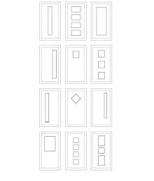 πορτα με γυαλί